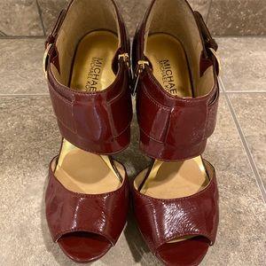 Michael Kors Platform Heel Sandals Size 7.5